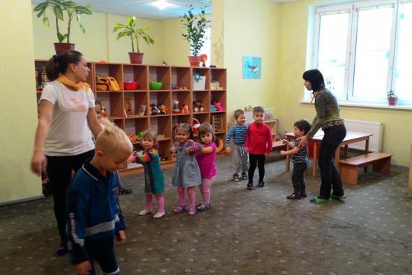 Обзорная экскурсия и обмен опытом в частном детском садике